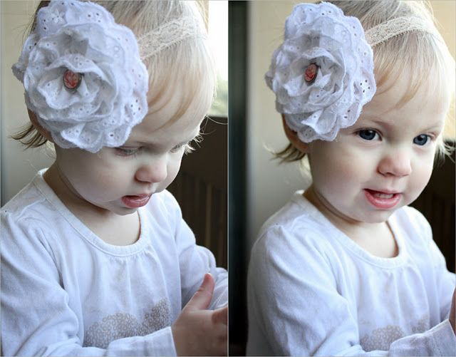 how to make eyelet lace flower