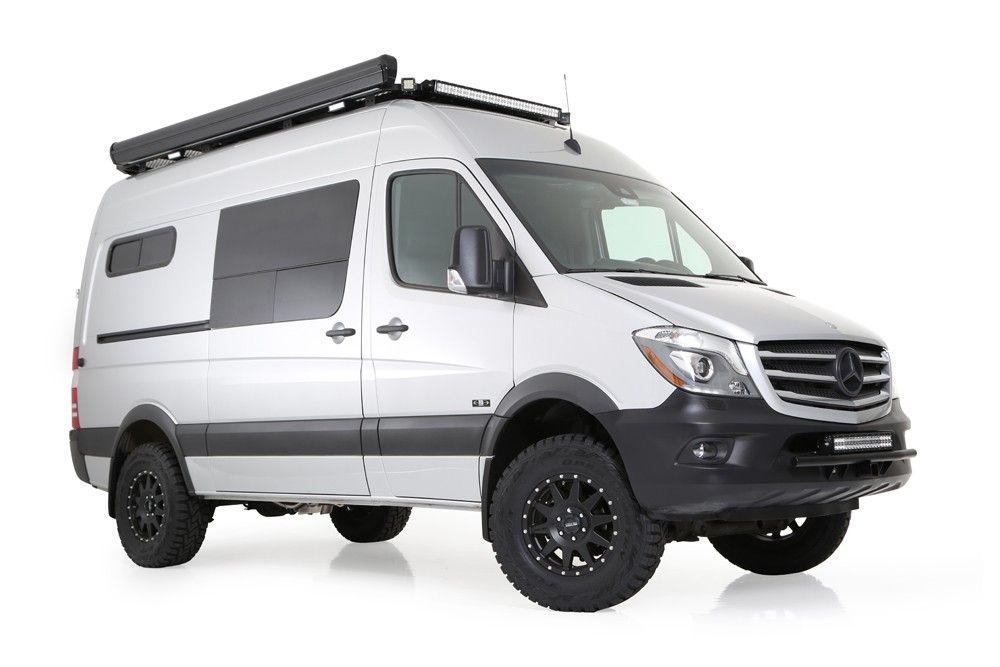 Knott Sprinter Adventure Van Includes A Complete Interior Kit Fatmat Sound Deadening Triple