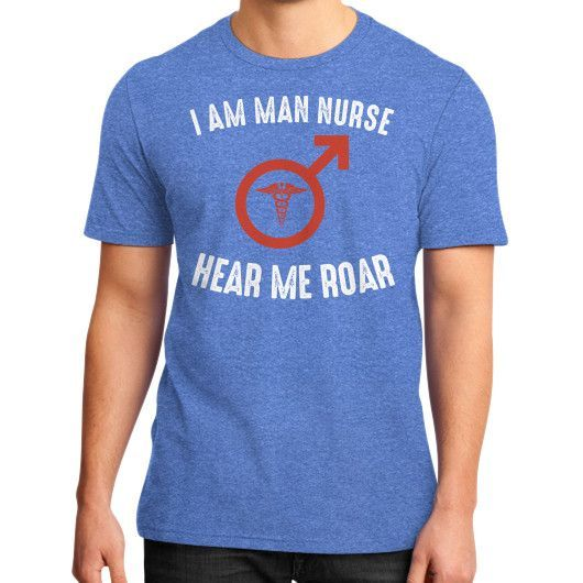 Man nurse District T-Shirt (on man)