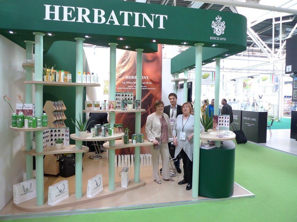 Lo stand di Herbatint a Cosmoprof Worldwide Bologna nel 2014