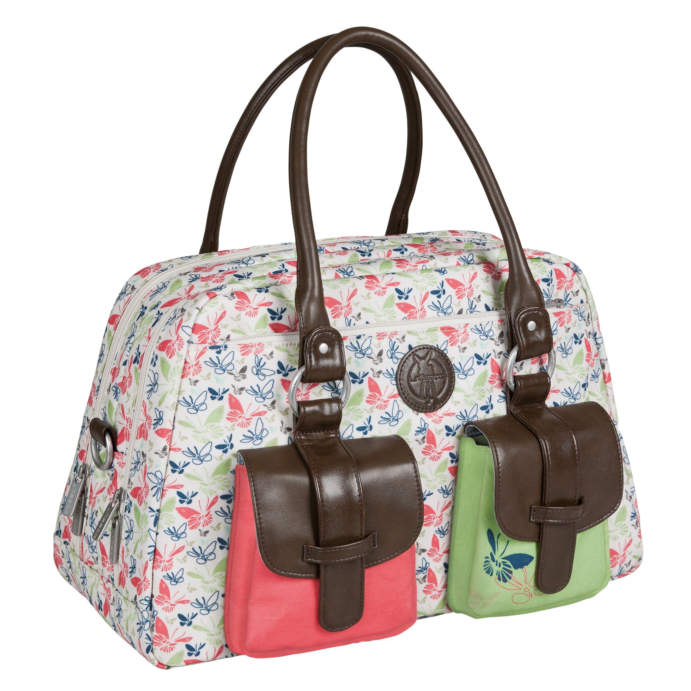 Bringt Farbe ins Spiel - Die LÄSSIG Metro Bag aus der Vintage Kollektion hier in Butterfly pink