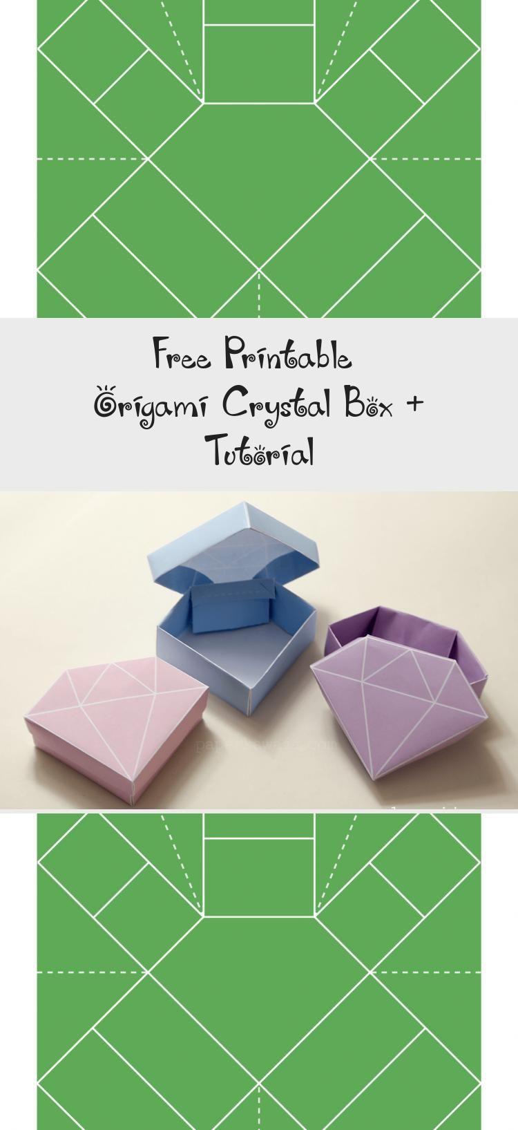 Photo of origami-gem-box-template-corral-lid #origamiTurtle #origamiCat #origamiFacile #o…
