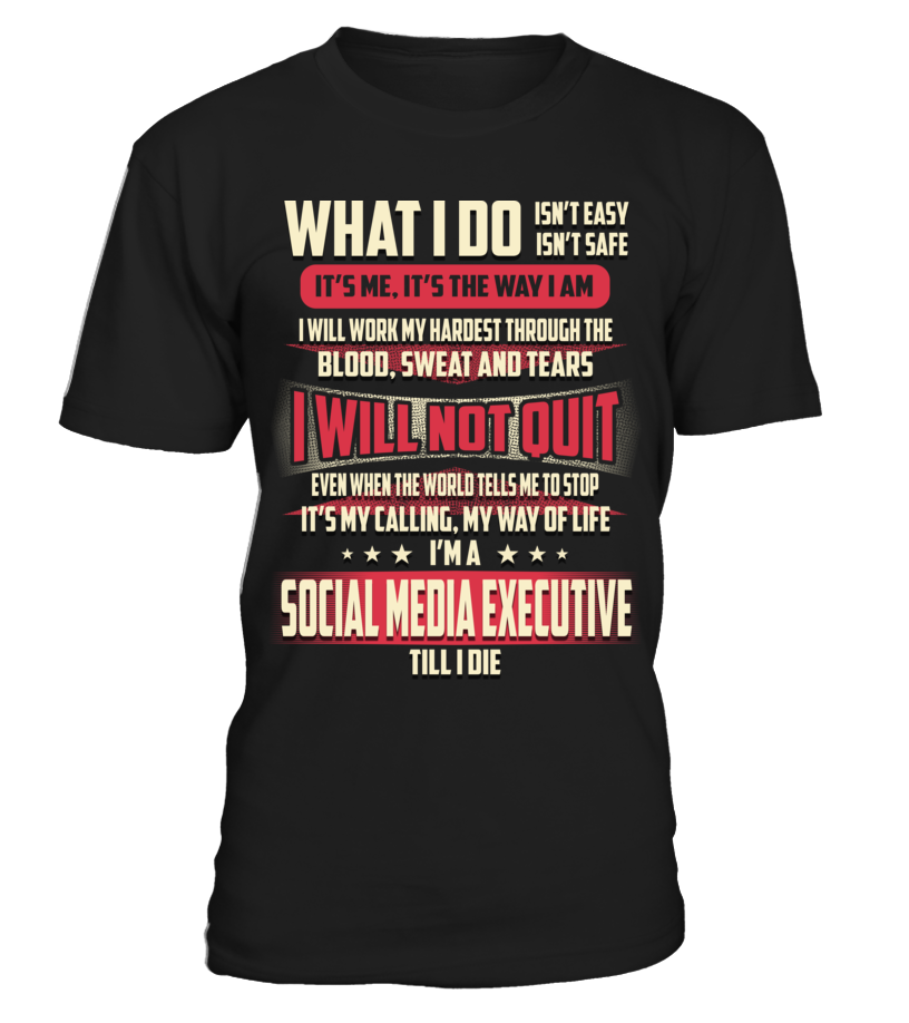 Social Media Executive - What I Do