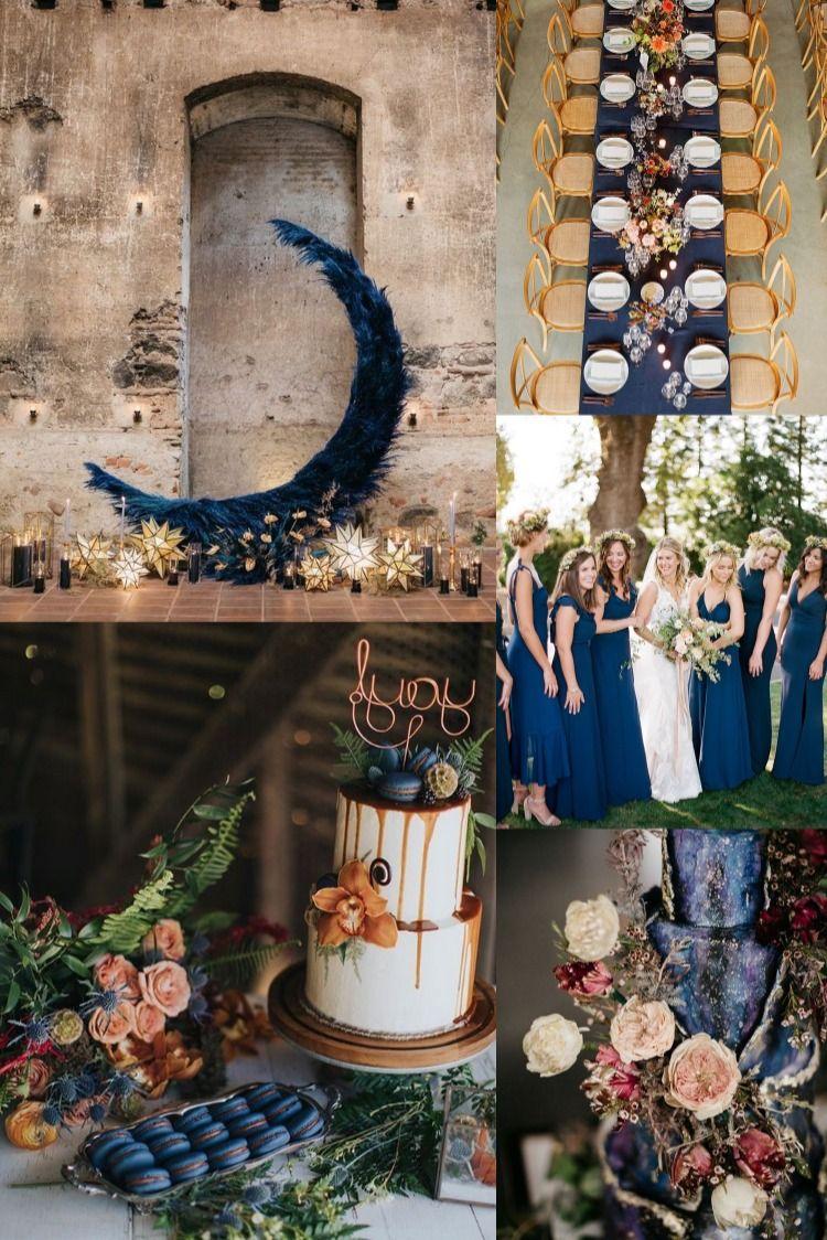 Pantone 2020 30+ Classic Blue Wedding Color Ideas in 2020