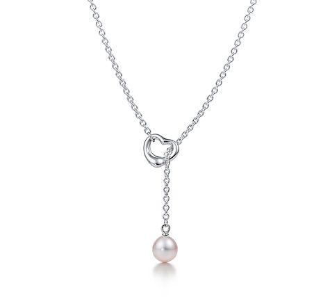 Elsa Peretti Ouverte Lariat Coeur En Argent Sterling Tiffany & Co. ALHM21H