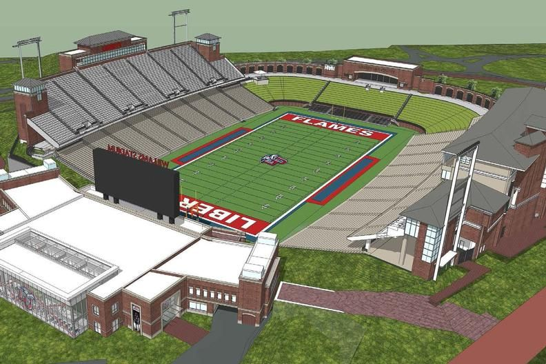 The University Has Announced A Major Upgrade And Expansion To The Arthur L Williams Football Operations Center Baseball Stadium Liberty University University