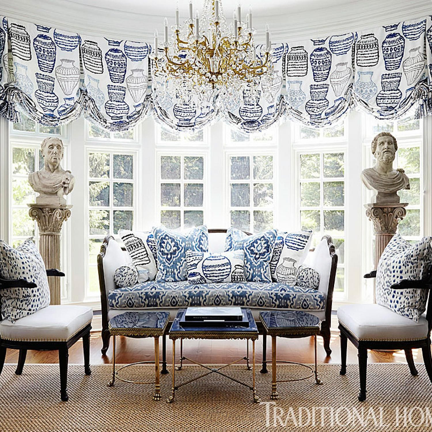 New Home in Navy and Indigo | Pinterest | Navy, French blue and ...