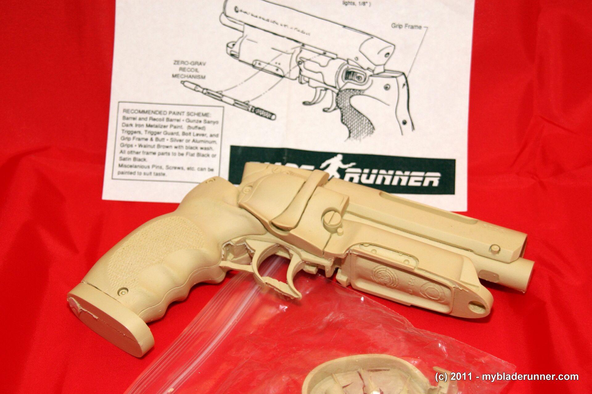 Resin Blade Runner gun kit. | Blade Runner | Pinterest | Blade and ...
