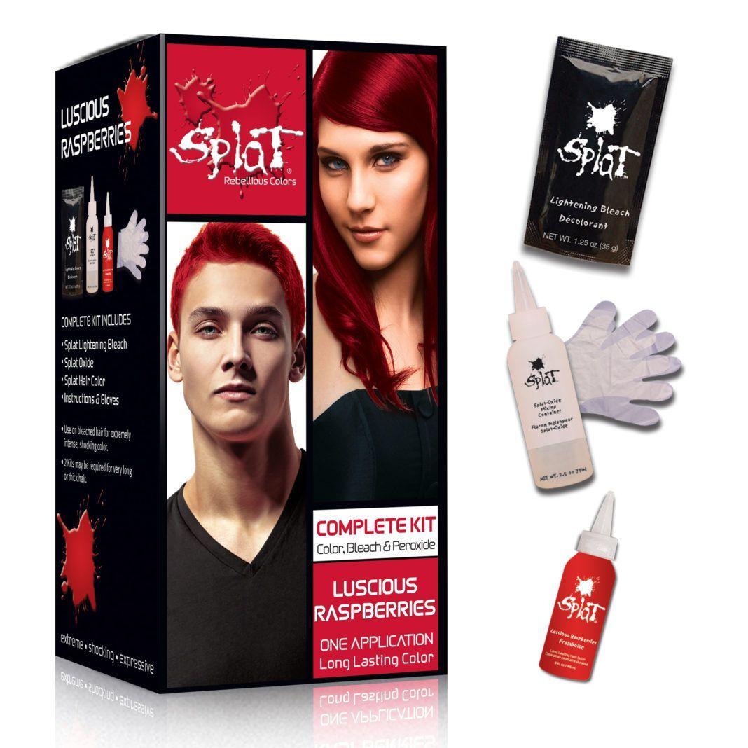 Splat Hair Dye Reviews Tutorials And Insider Tips Kastanienbraunes Haar Auf Schwarze Frauen Splat Hair Dye Review Splat Hair Dye Splat Hair Dye Red Dyed Hair