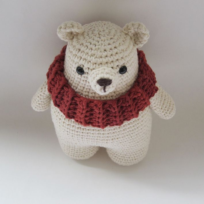 Leopold, the Polar Bear - FREE PATTERN by {Amour Fou} | { Amour Fou ...