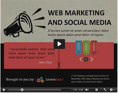 Infographic Survey Powerpoint Template Infographic And Unique - Survey presentation template