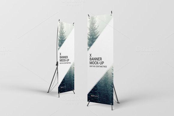 x banner mock up