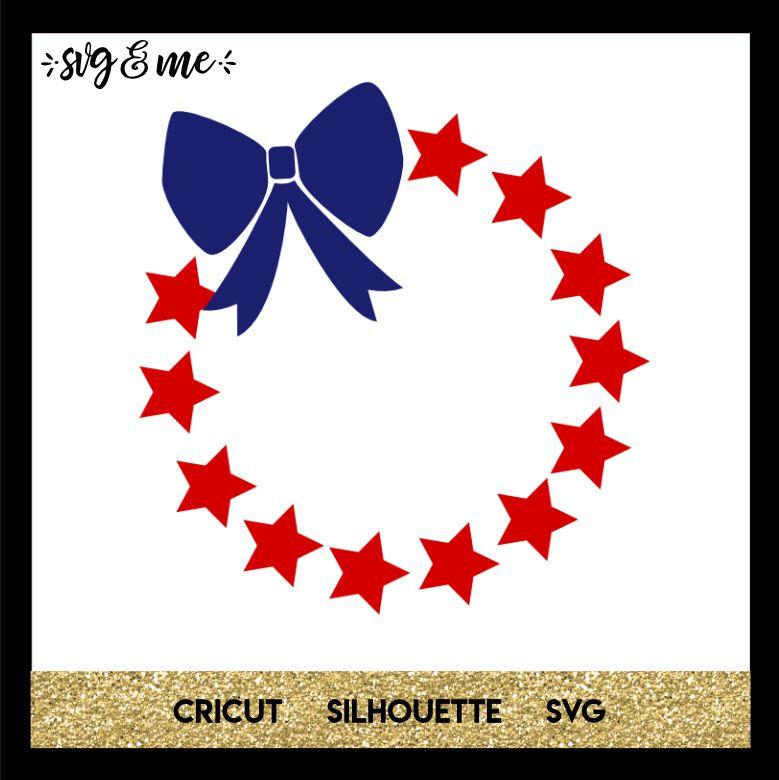Patriotic Wreath Patriotic wreath, Vinyl crafts, Vinyl
