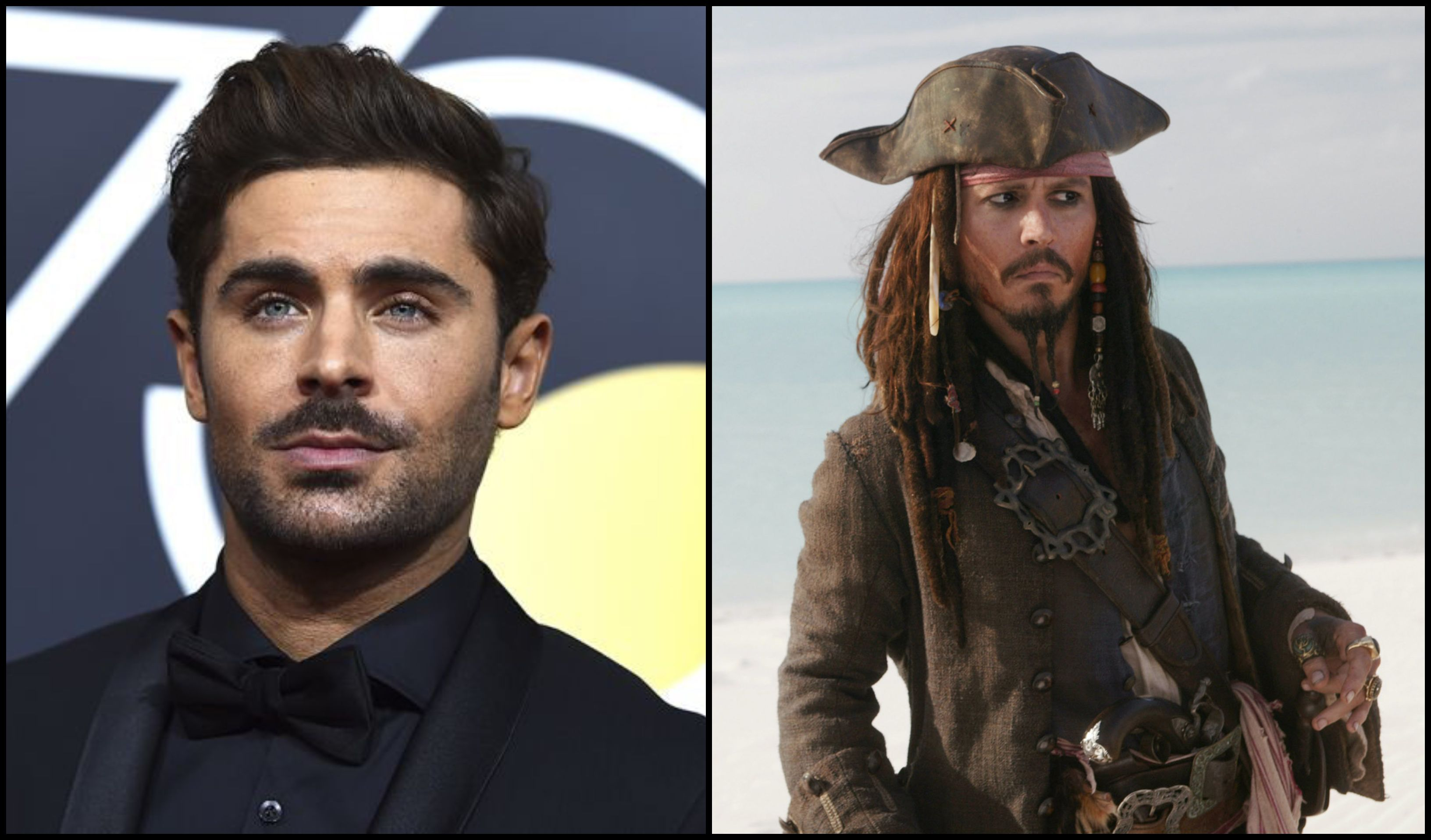Disney Reportedly Looking To Cast Zac Efron As Captain Jack