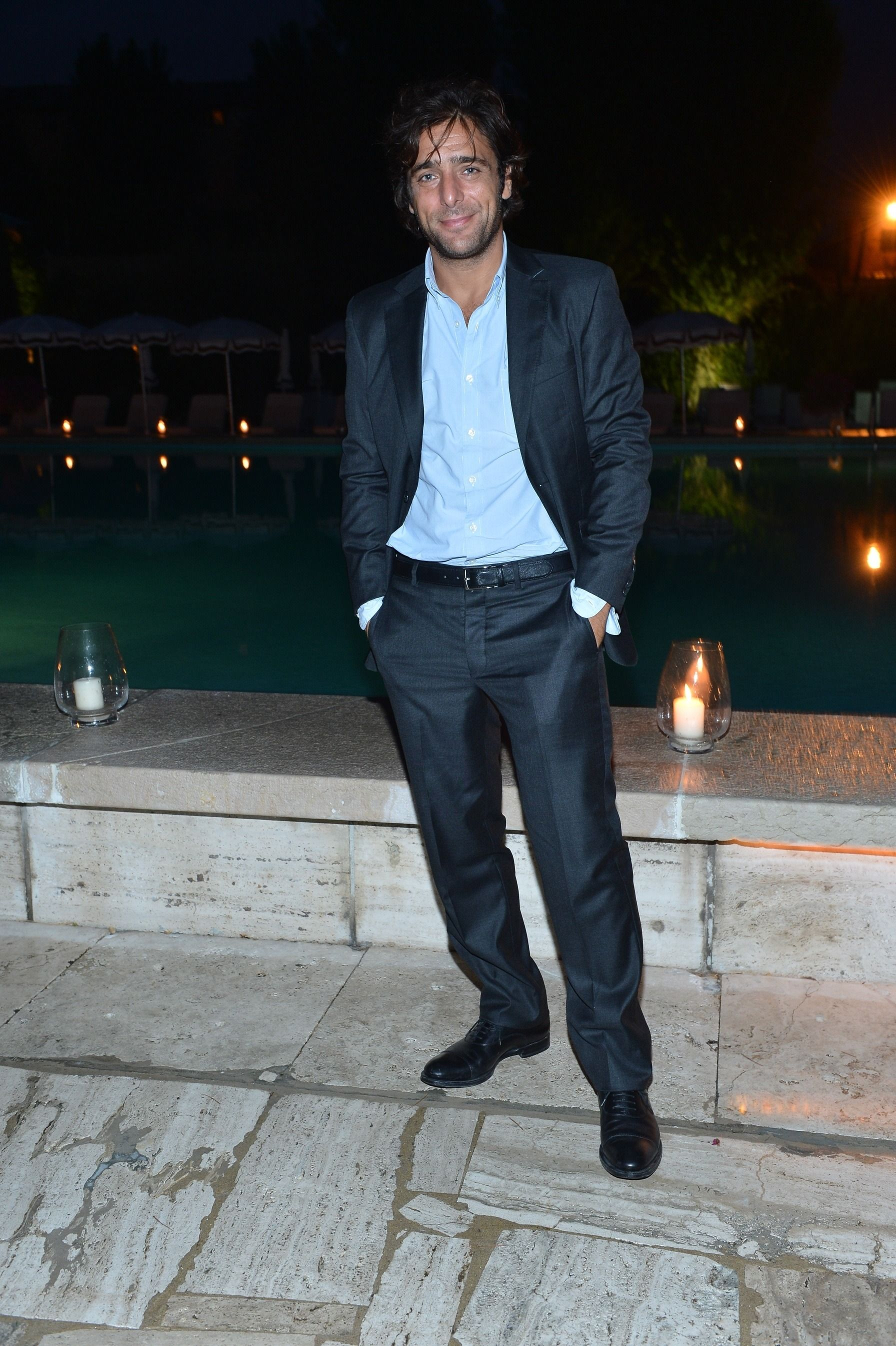 Adriano Giannini at the Cipriani hotel in Venice. 69th Venice International Film Festival.