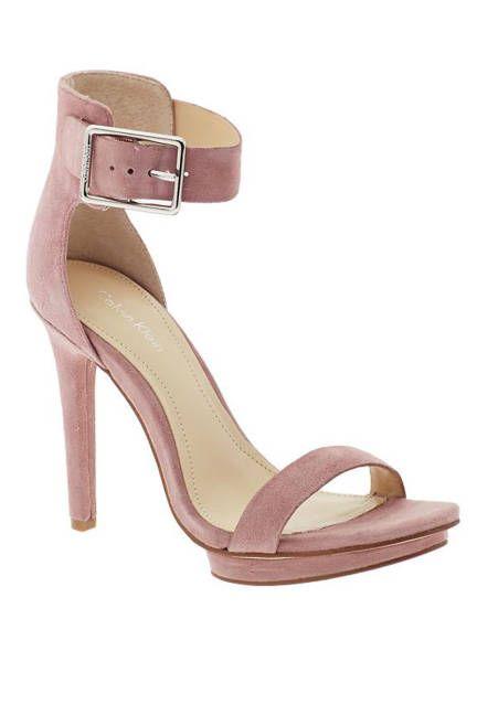 2edfca131 The hottest summer sandals: Calvin Klein rose ankle strap sandals Ankle  Strap Heels, Ankle