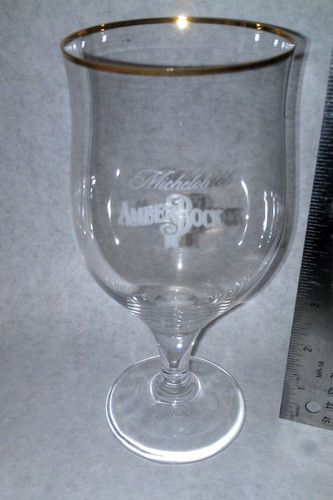 Michelob Amber Bock Special Beer Glass New Collectible Rare