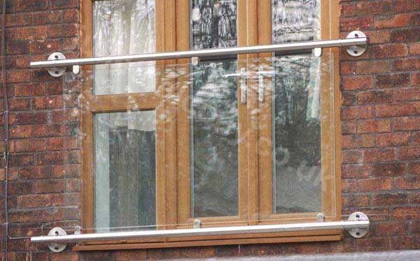 Stylish Glass Juliet Balcony In Any Size