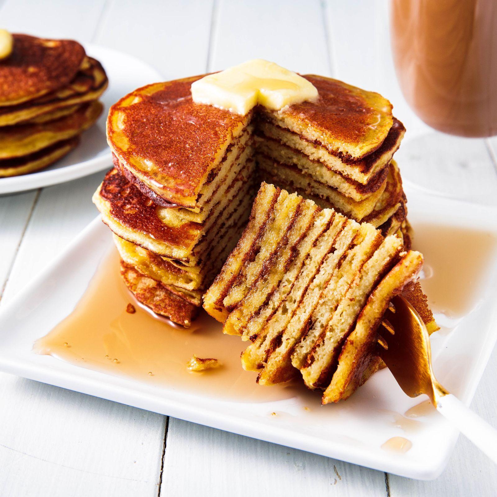 Coconut Flour Pancakes Recipe Coconut flour, Pancakes
