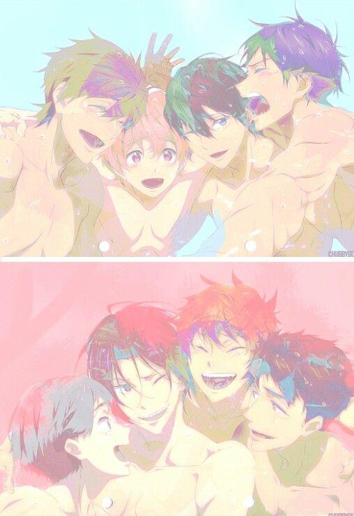 Free! Iwatobi/Samezuka Boys