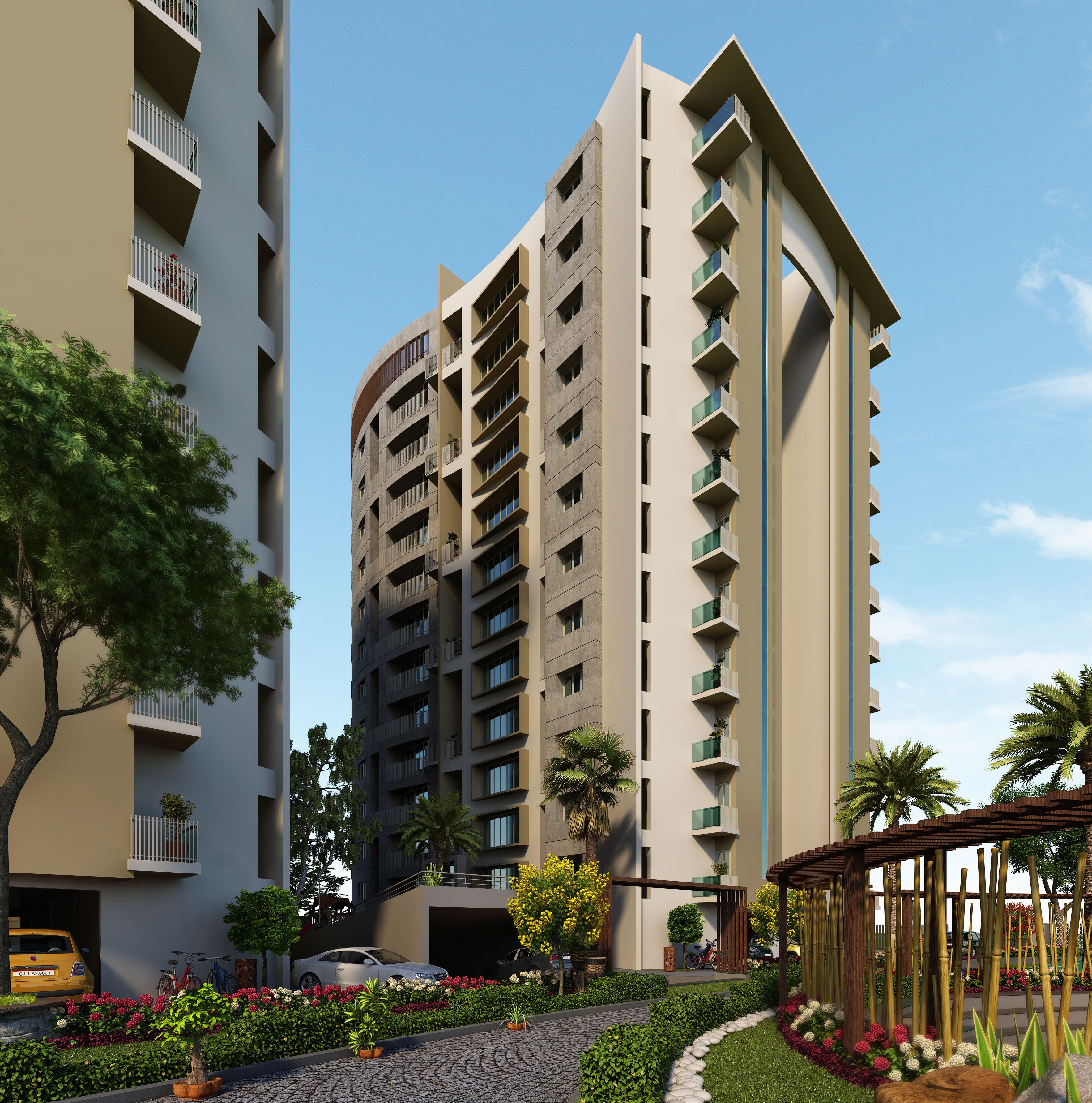 High Rise Apartment Exterior Design