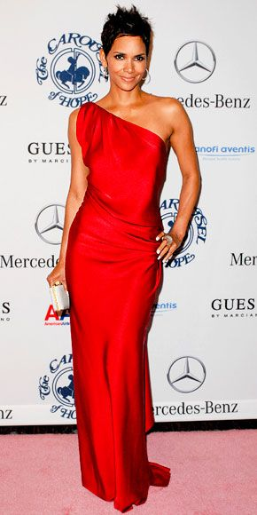 Halle Berry in YSL - The Carousel of Hope Ball : Look of the Day - October 25, 2010 : InStyle