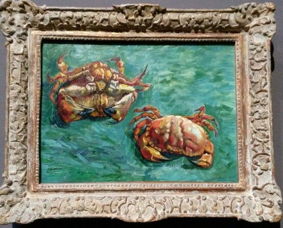 Vincent Van Gogh, Two Crabs 1889 | Bathroom | Pinterest | Van gogh