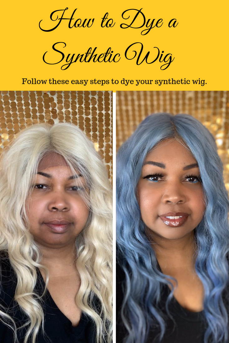 How To Dye A Synthetic Wig Wigs Light Hair Color Diy Wig