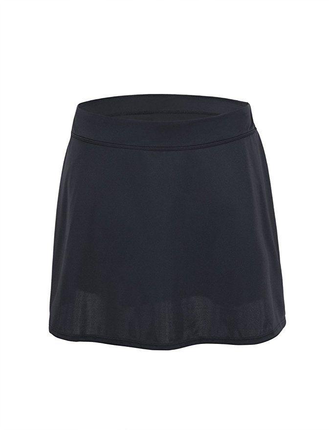 7dc48abbe1fb8 Hilor Women's High Waist Skirted Bikini Bottom Swimsuit Skort Swimdress at  Amazon Women's Clothing store: