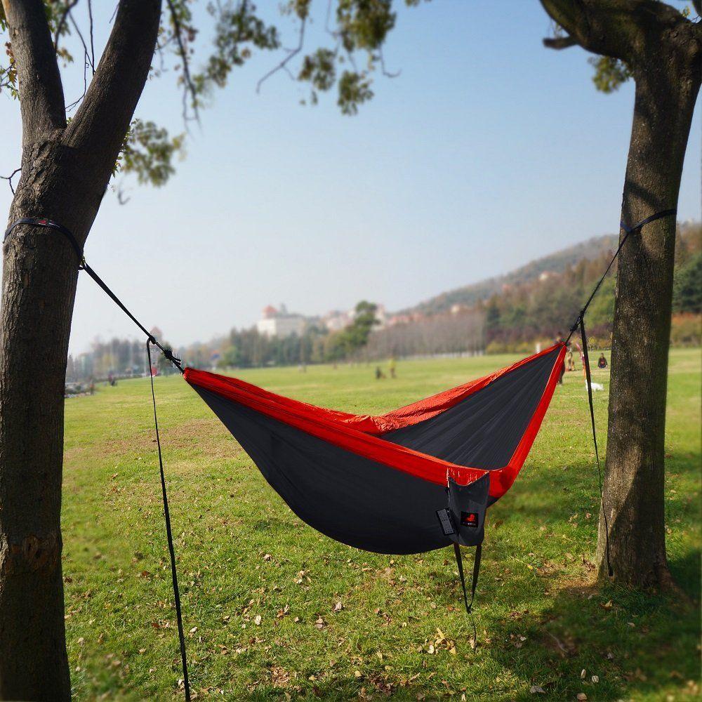 camping hammock with hammock tree strapsportable parachute nylon hammock for backpacking travel camping hammock with hammock tree strapsportable parachute nylon      rh   pinterest