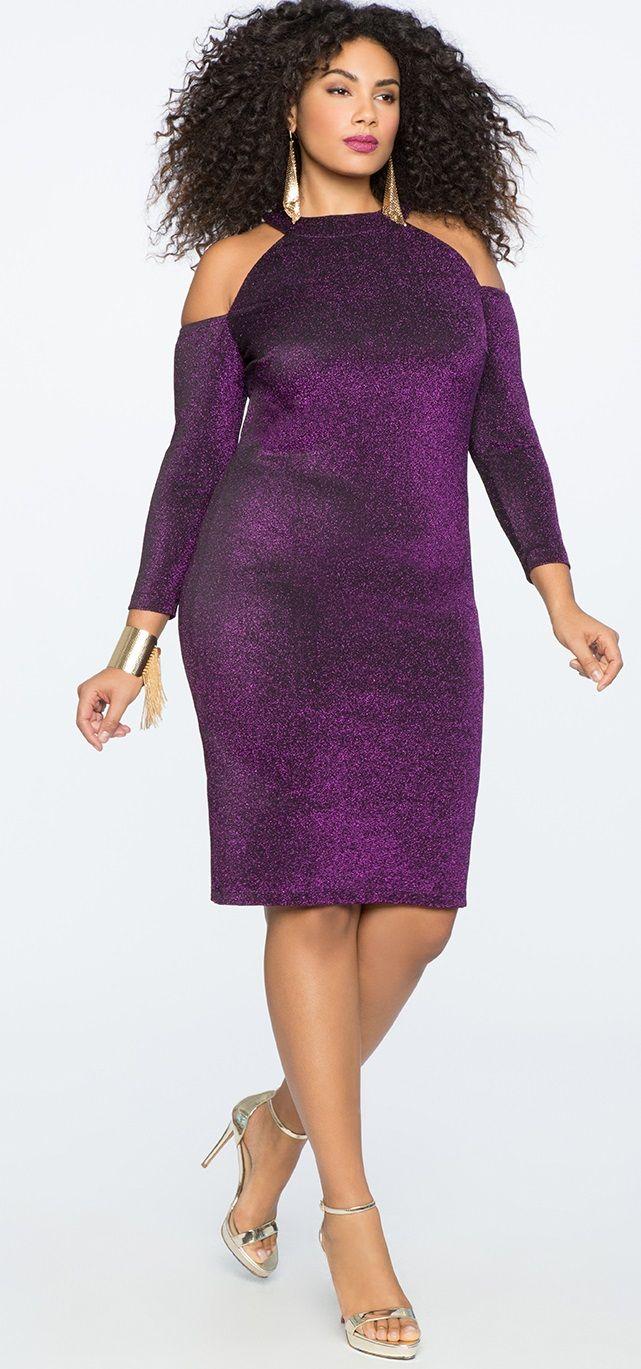 Plus Size Cocktail Dress #plussize #party #holiday #dress   plus ...