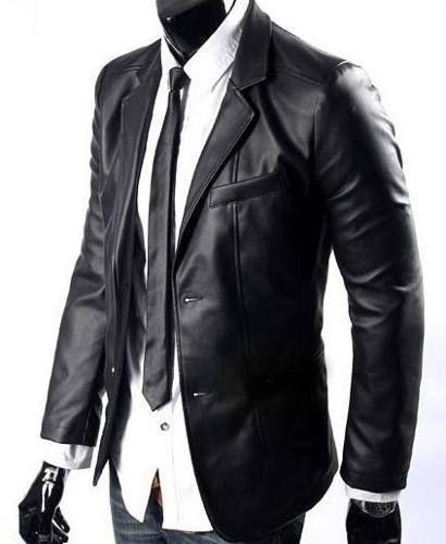 580eea7613b821 chaqueta cuero blazer - saco / 100% cuero real | Adulto-Joven en ...