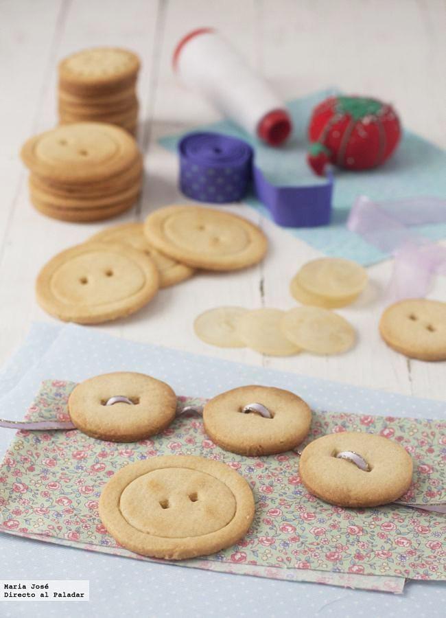 Galletas botón   Directo al Paladar #DirectoAlPaladar #receta #cocina #galletas #cookies http://www.directoalpaladar.com/postres/galletas-boton-receta  http://www.directoalpaladar.com/postres/galletas-boton-receta