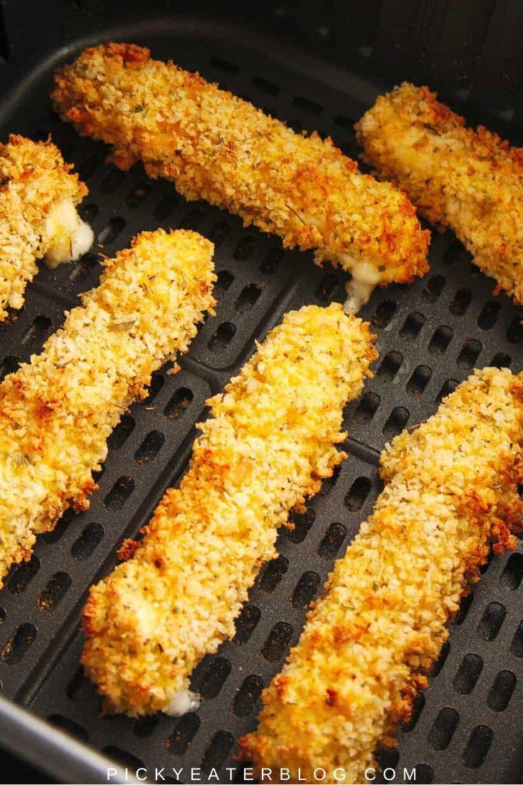 Air fryer mozzarella sticks recipe food recipes food