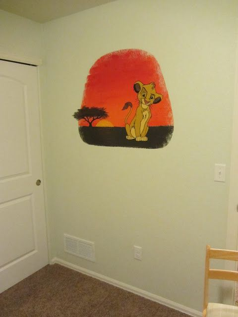 How to paint a wall mural using an overhead projector. Good option ...