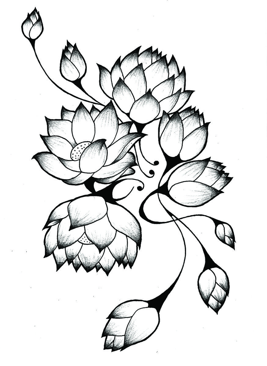 Love the idea of this or something similar in the middle of my lotus tattoo on hip maybe izmirmasajfo