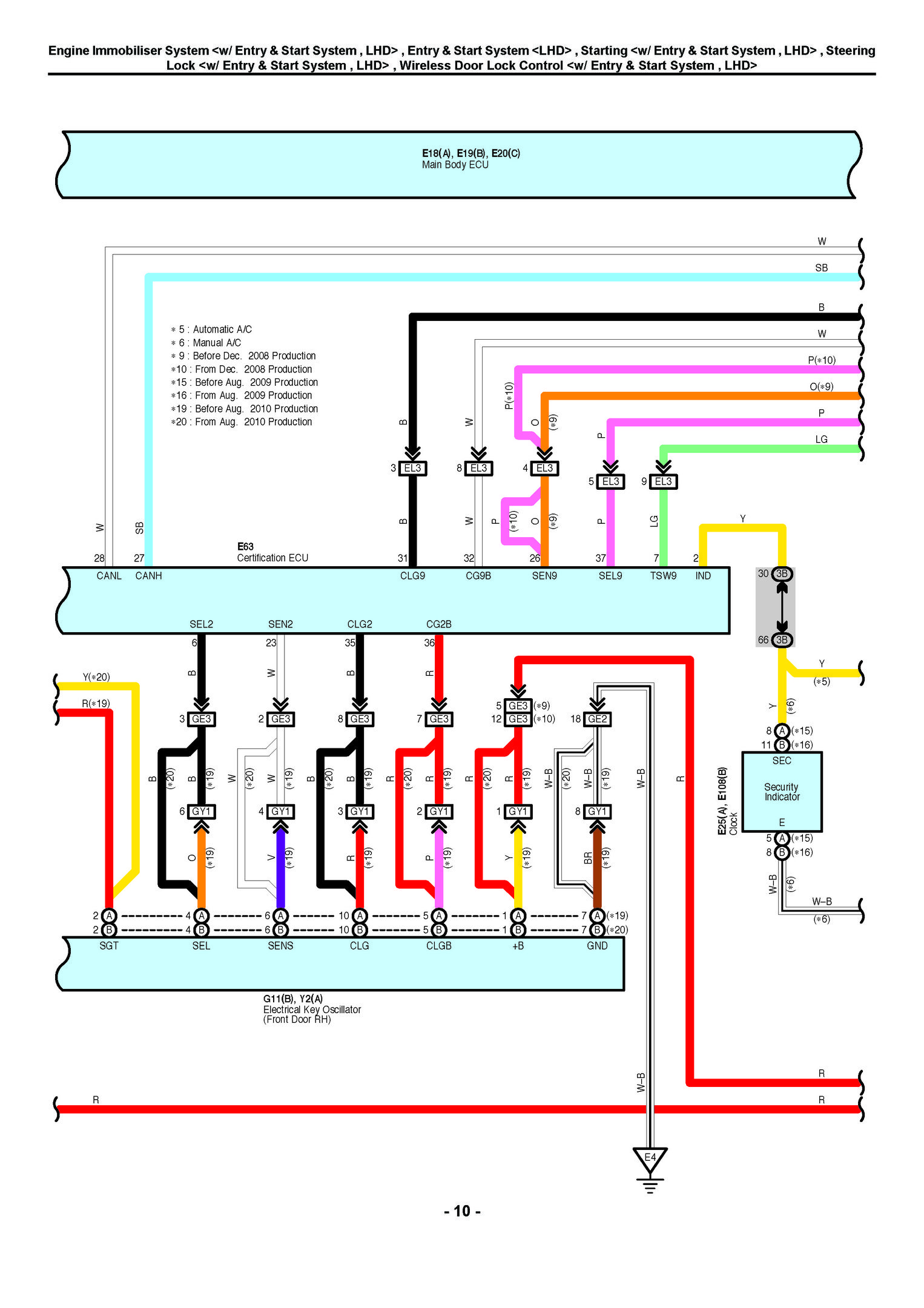 Uk Europe North America Toyota Rav4 Electrical Wir Oem Auto Repair Manuals Toyota Rav4 Electrical Wiring Diagram Rav4