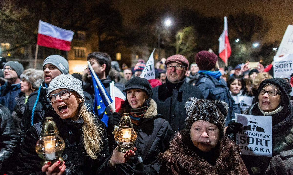 As protesters rally against the new government, we ask Poles for their views on the mood and challenges ahead