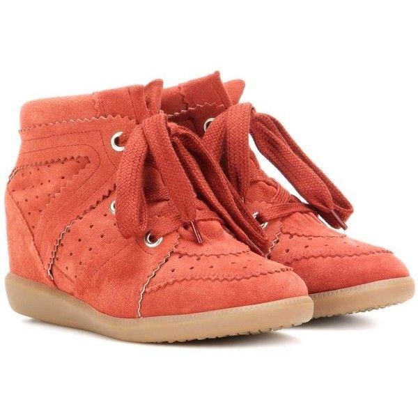 Toile Chaussures De Sport De Cale De Suède Isabel Marant Bobby wvSQW