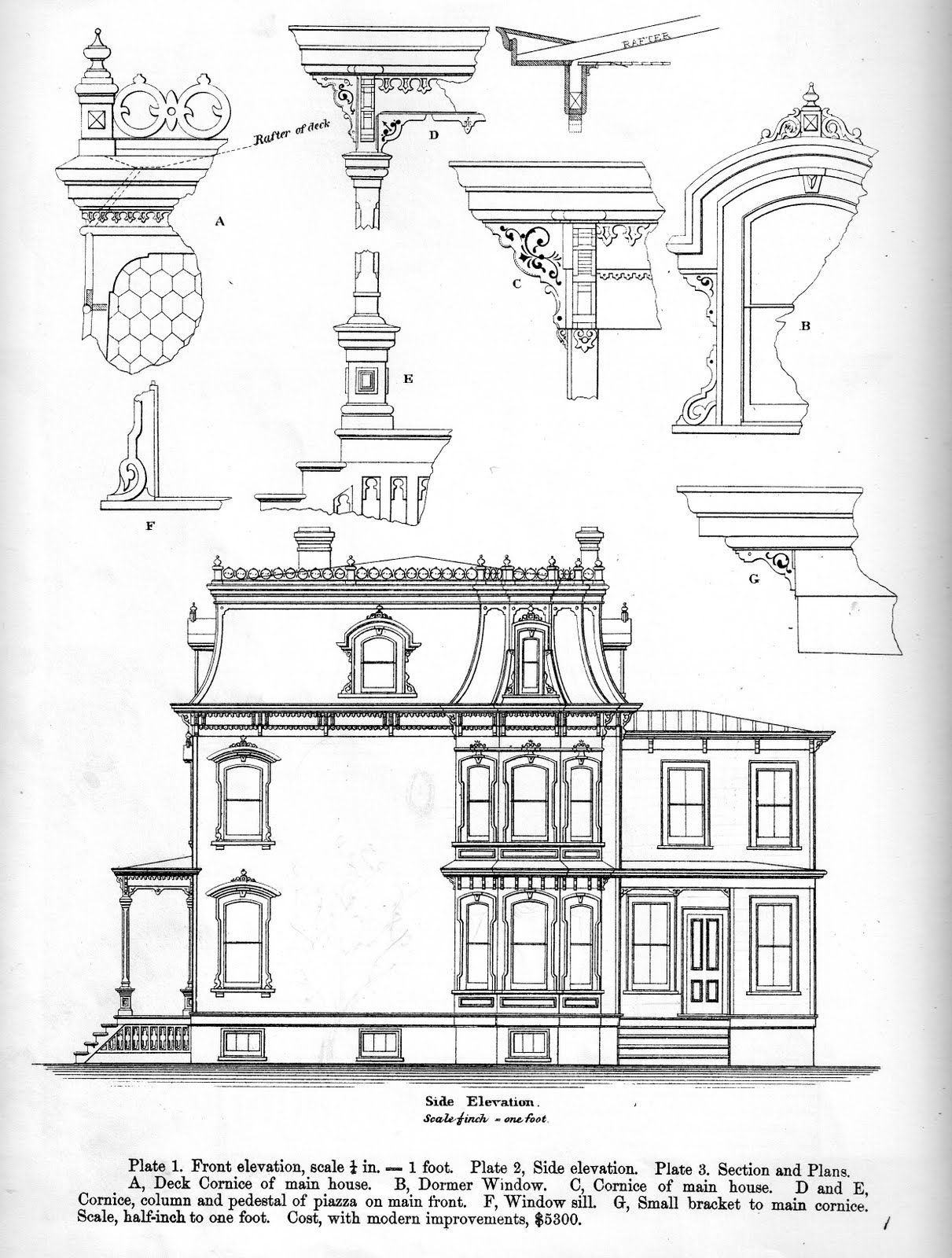Instant House Bicknell S Victorian Building 1 In