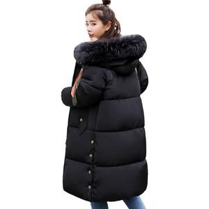 12f0987c69c31 Oversize Warm Thicken Womens Winter Jackets Hooded Cotton Padded Outwear Female  Coat Winter Women 2018 High Quality Long Parka
