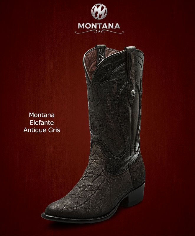 best loved 80940 7b6c7  Montana  Botas  Montana  Elefante  Modelo MN203EL  Color AntiqueGris   MontanaisBack. Encuentra este Pin y muchos más en ...