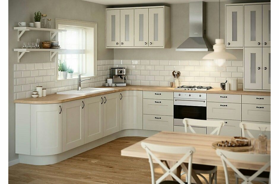 B&q Brookfield Shaker Ivory  Galley Kitchen Ideas  Pinterest Simple B & Q Kitchen Design Review