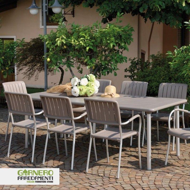 Tavolo da esterno allungabile Maestrale 220 di Nardi. Ideale per ...