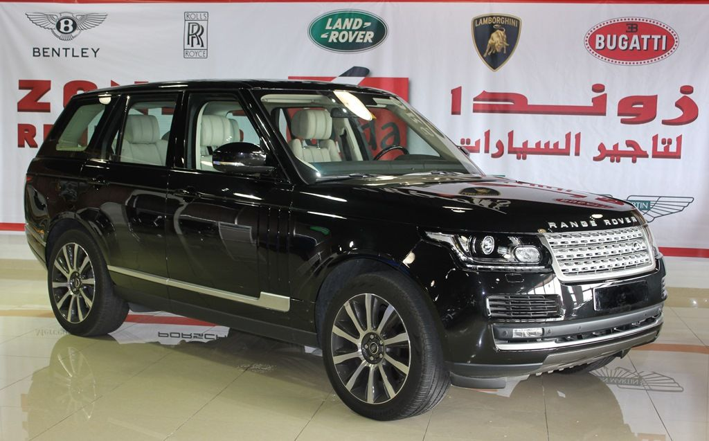2013 Range Rover black supercharged Range Rover Vogue