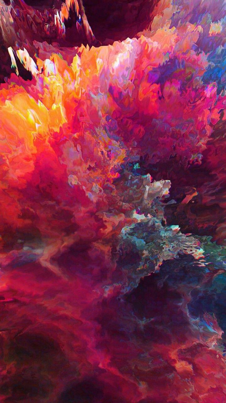 Wonderful Art Fractal Art Paint Explosion