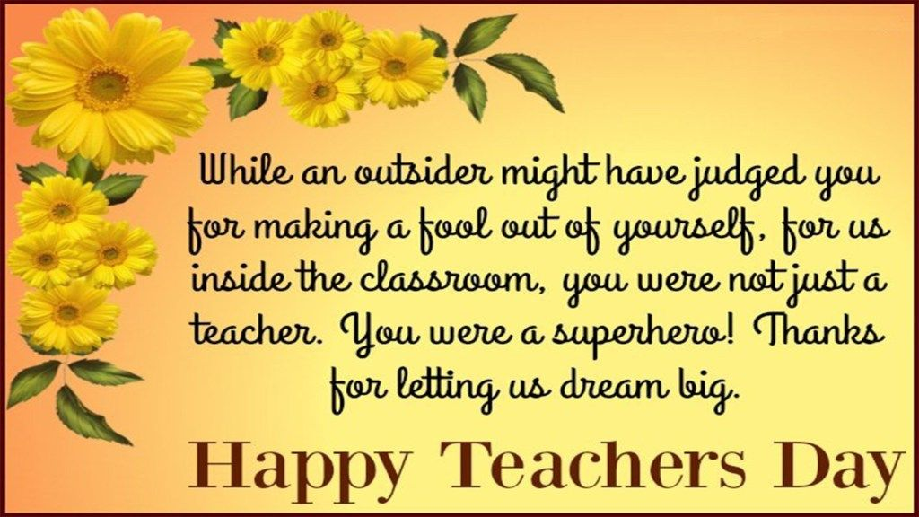 Happy Teachers Day Wishes Images With Images Greetings For