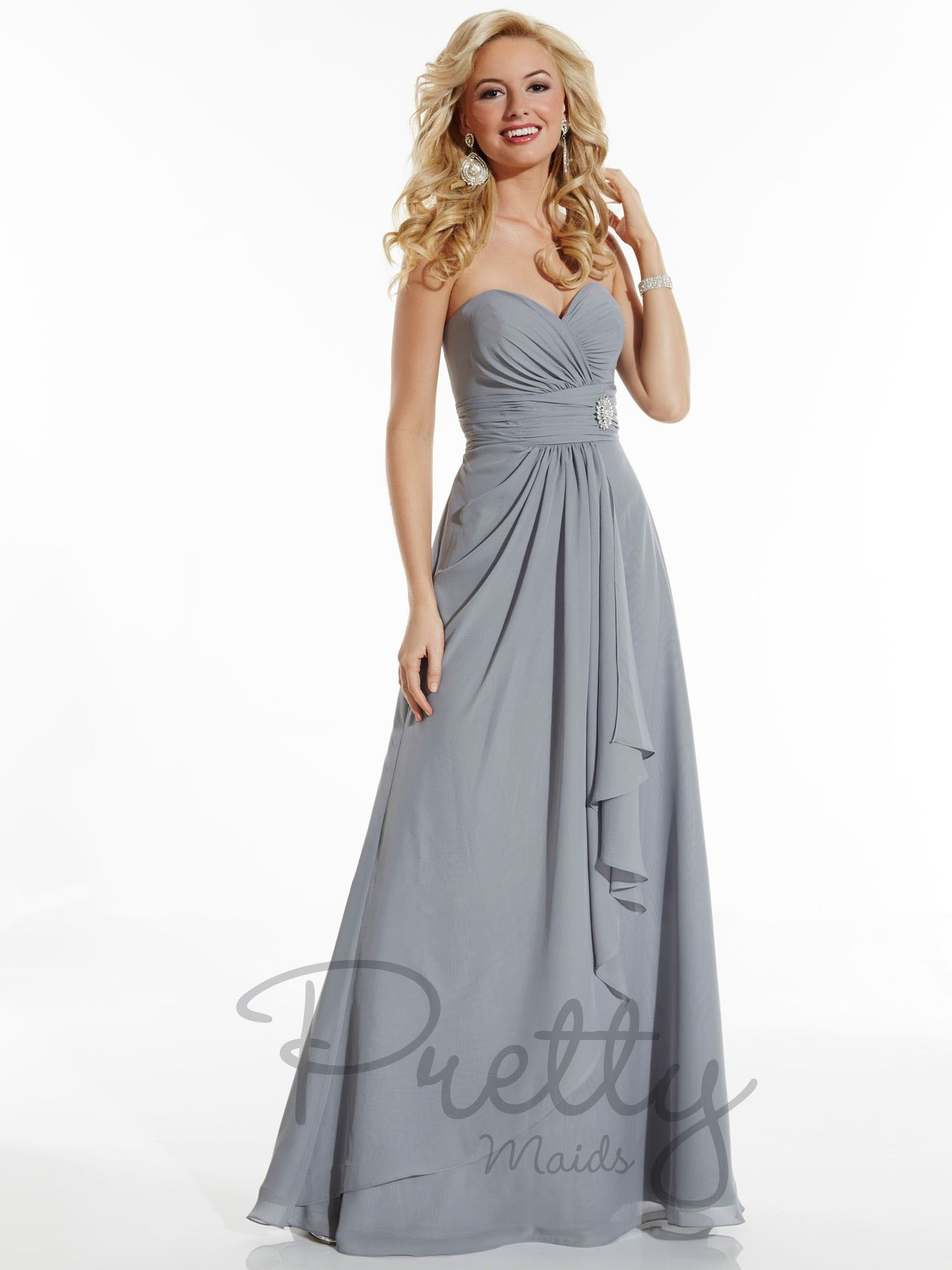 Size 20 maternity wedding dress  Pretty Maids Style  This size  sample is shown in Platinum