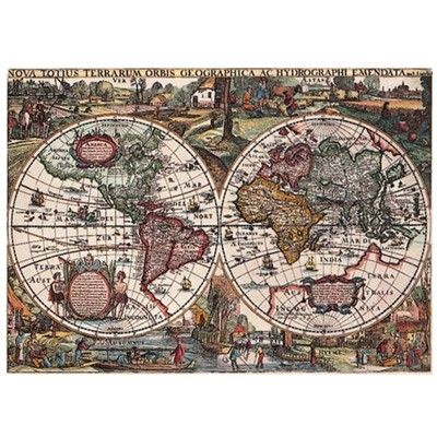 Ravensburger old world map 1500 piece puzzle 29 everyone needs a ravensburger old world map 1500 piece puzzle 29 gumiabroncs Gallery