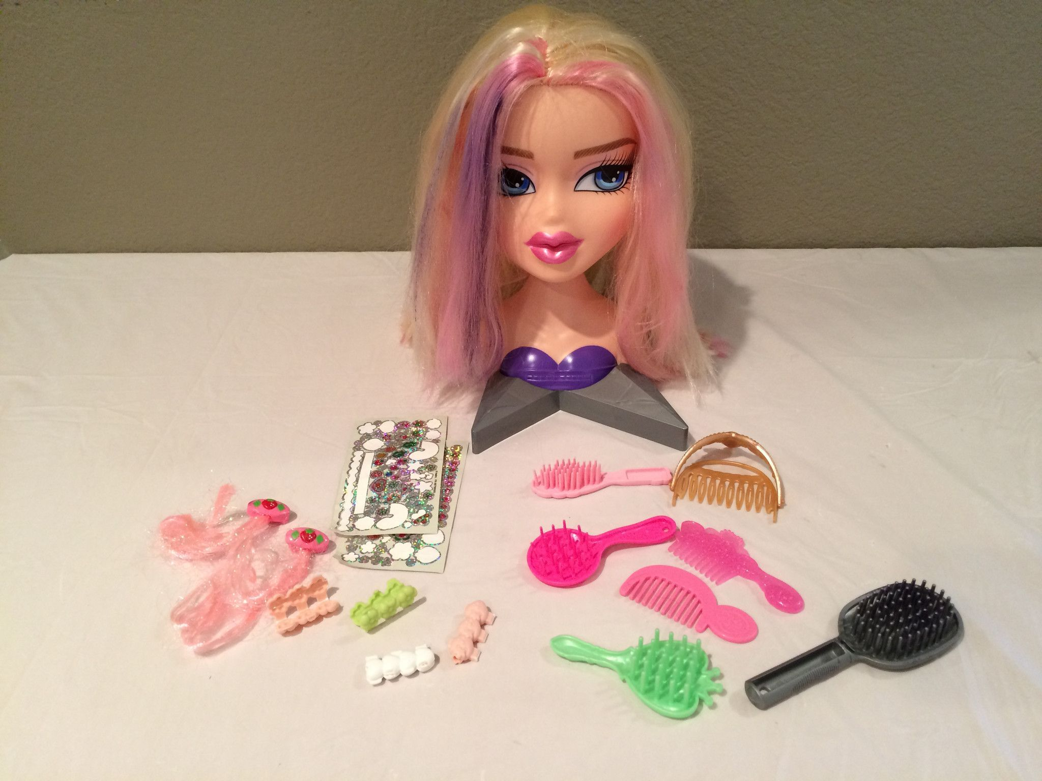Bratz Doll Styling Head Accessories Preowned Bratz Doll Head Accessories Dolls